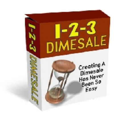 Product picture 1-2-3 Dimesale Website Script With Master Resale Rights