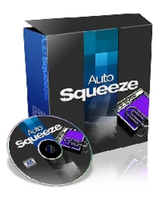 Product picture Auto Squeeze Website Script With Private Label Rights